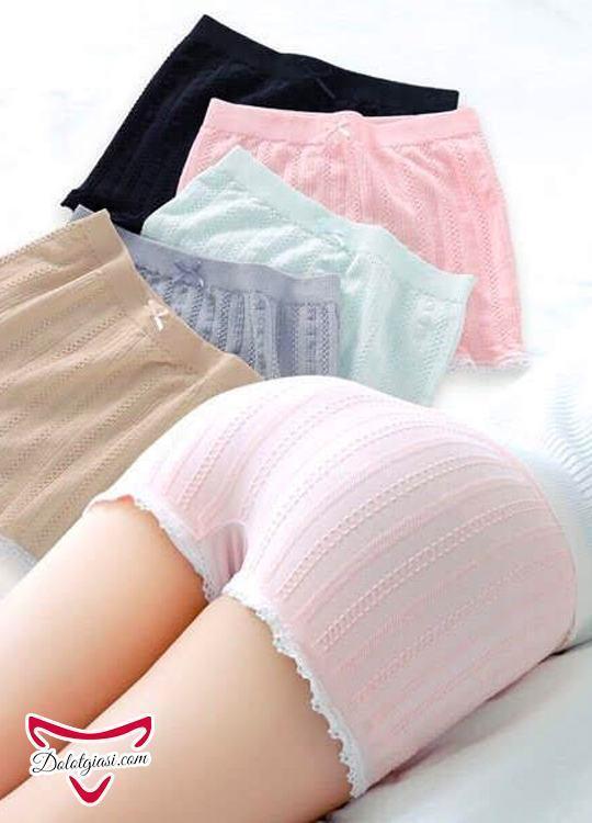Quần mặc váy cotton viền ren cao cấp QMV3
